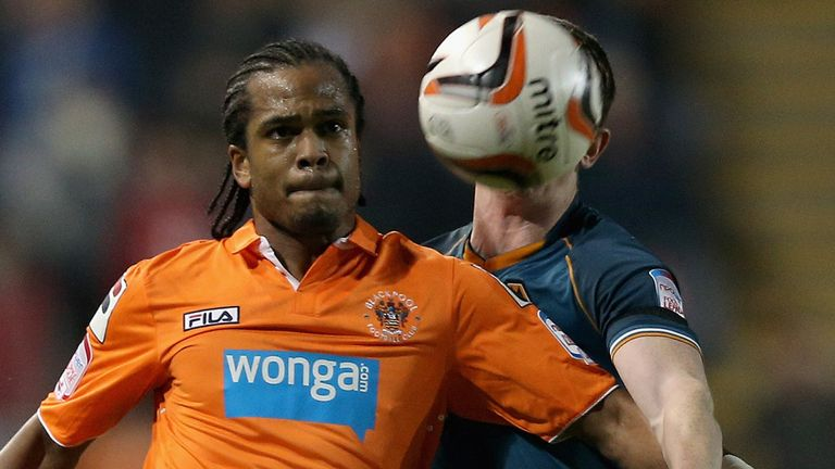 Nathan Delfouneso: Second Blackpool loan spell for Villa striker