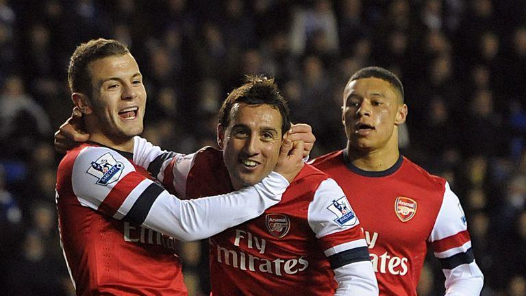 Santi Cazorla: Inspired Arsenal win at Reading
