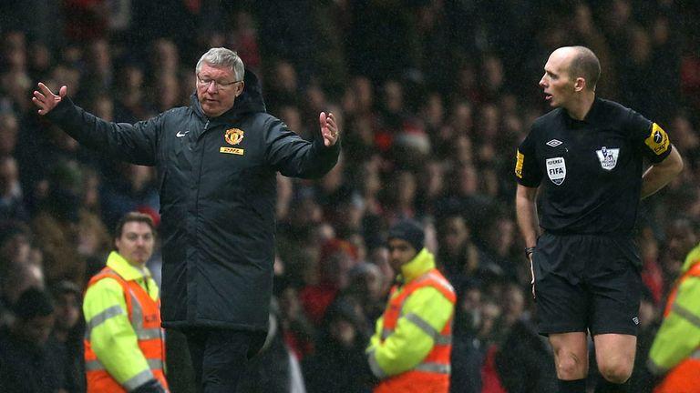 Sir Alex Ferguson was unhappy about Newcastle's second goal