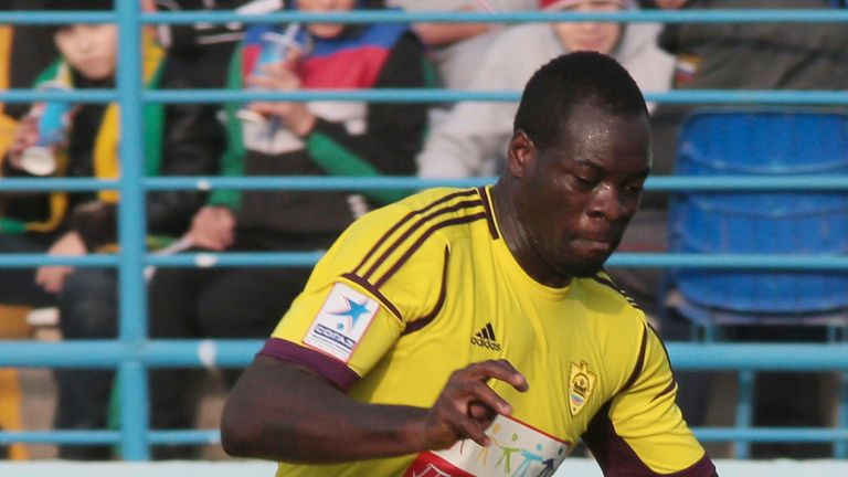 Christopher Samba: Has returned to Anzhi Makhachkala