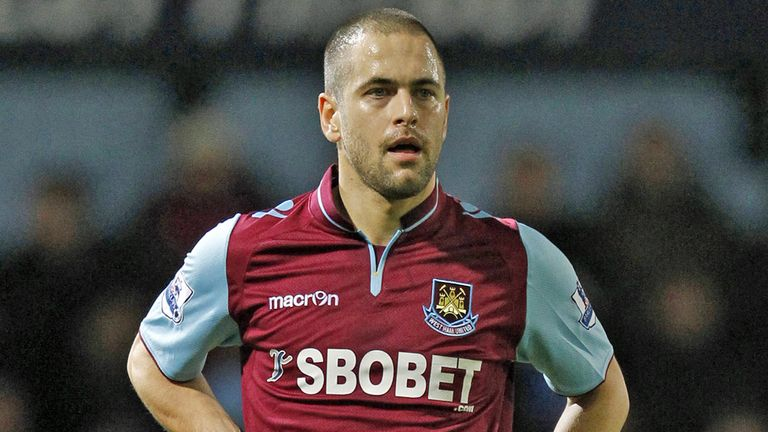 Joe Cole: The midfielder scored his first goal since his return to West Ham