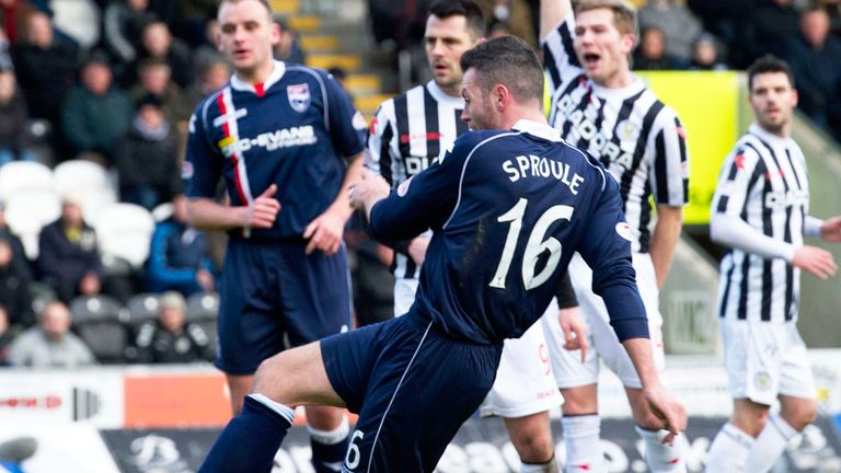Ivan Sproule: Scored twice on his debut after move from Hibernian