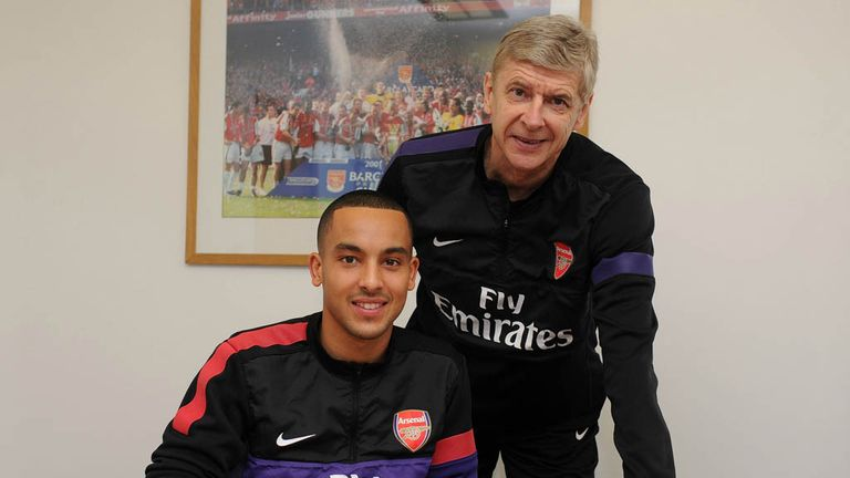 Theo Walcott: Arsenal forward has signed a new long-term contract with the Gunners