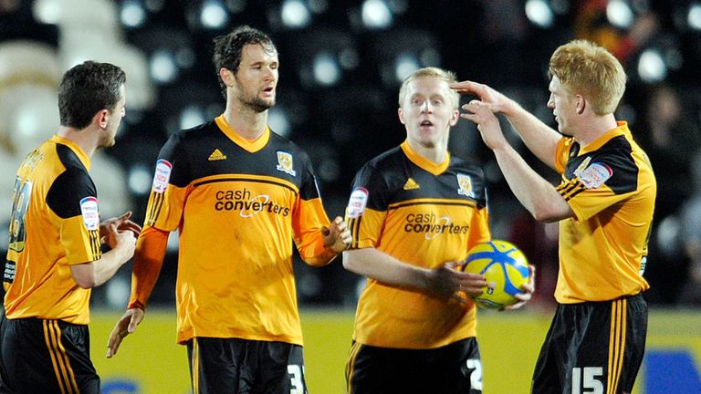 Nick Proschwitz: Late equaliser for Hull against Orient