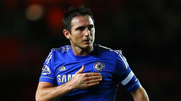 Frank Lampard: Wants Chelsea to remain a major force