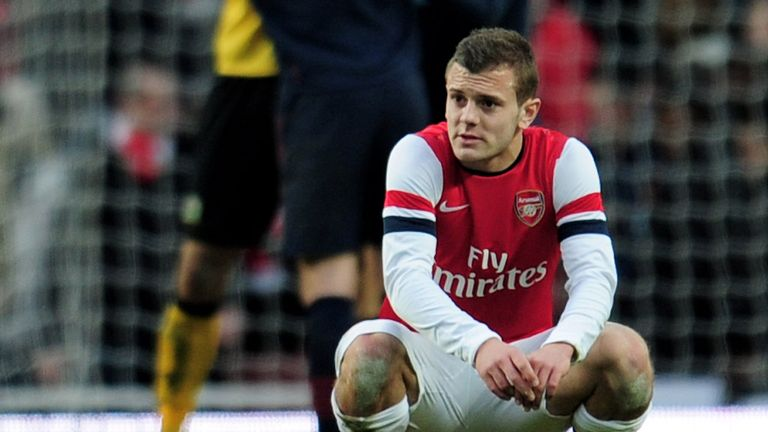 Jack Wilshere: Signed a long-term contract with Arsenal in December