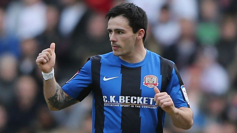 Chris Dagnall: Knocked out the holders