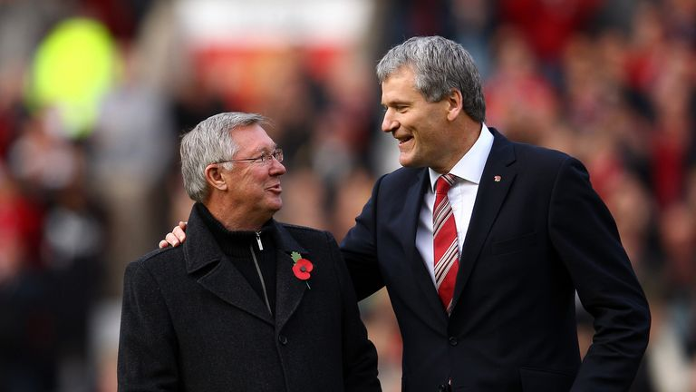 Sir Alex Ferguson and David Gill both left their roles in 2013