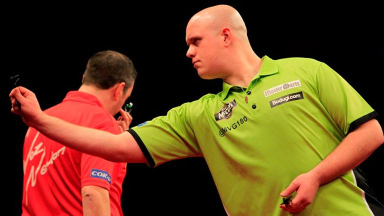 "Michael Van Gerwen: ""Full of confidence"""