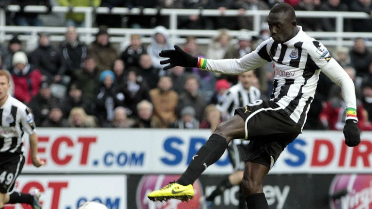Joy in injury time for match winner Papiss Cisse
