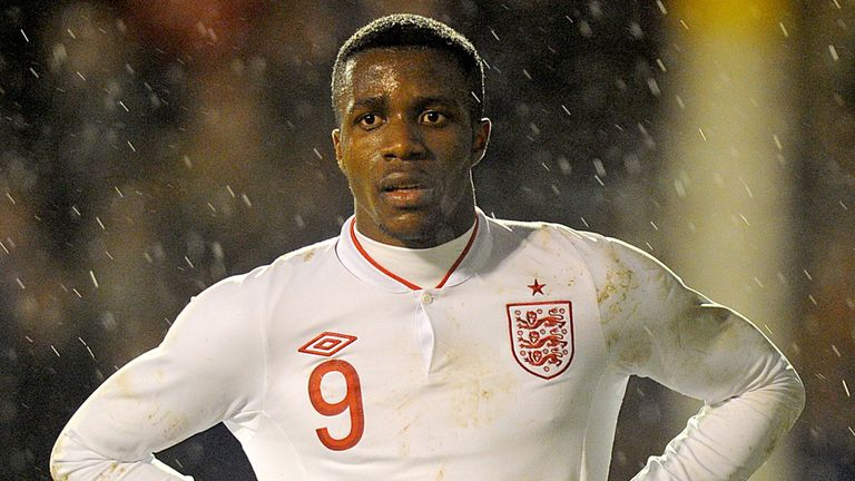 Wilfried Zaha: The winger was loaned back to Crystal Palace in January after joining United