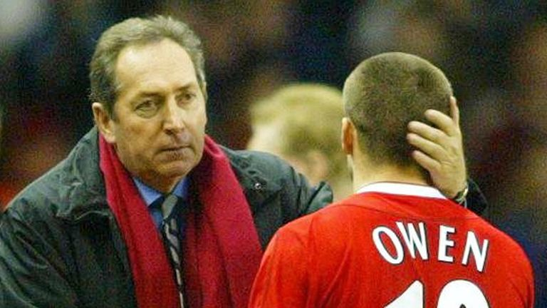 Despite having Michael Owen leading the line, Gerard Houllier was unable to bring the title to Anfield in 2002/03