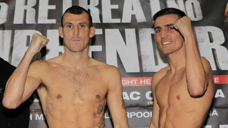 Lightweight leaders? Derry Mathews and Anthony Crolla