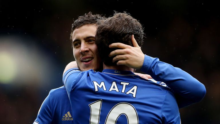 Eden Hazard: Believes Juan Mata should be named Player of the Year