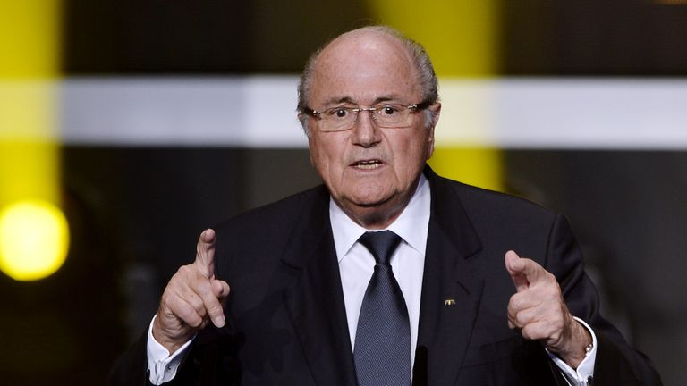 Sepp Blatter says it is not responsible to hold the 2022 World Cup in summer