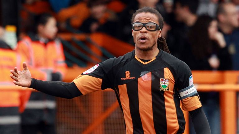 Edgar Davids: Dutchman staying on as Barnet head coach