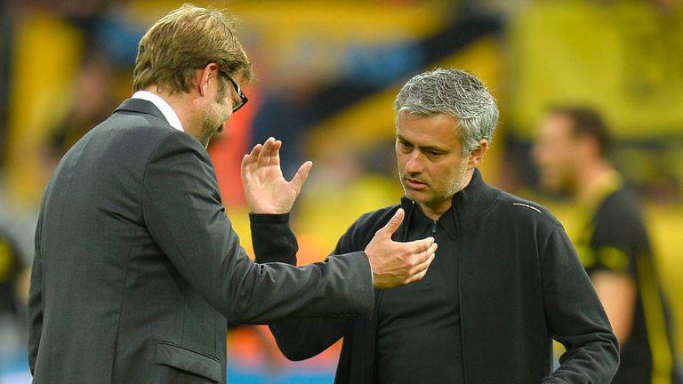 Mourinho faced Jurgen Klopp's Borussia Dortmund with Real Madrid