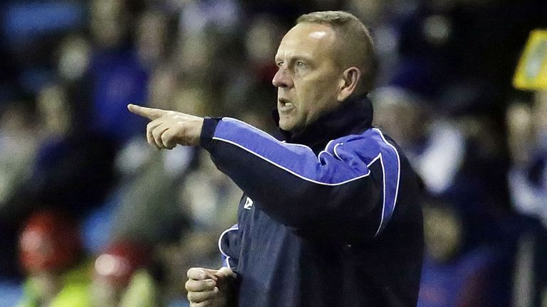 Kenny Shiels has previously managed Northern Ireland U17s alongside various club management roles