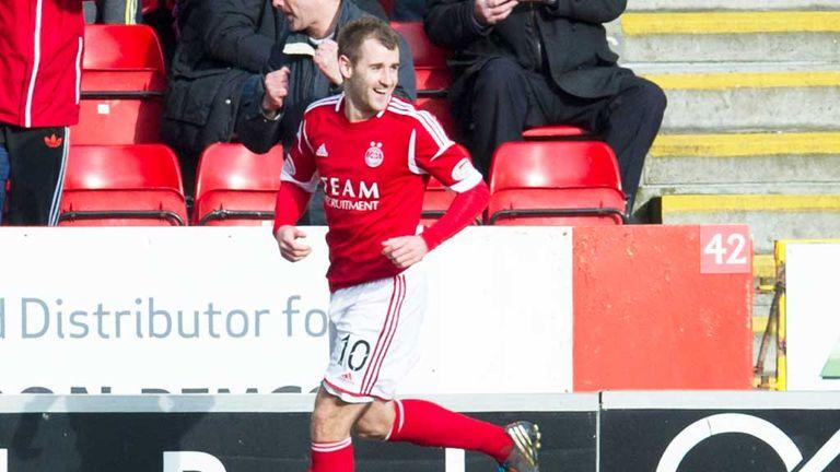 Niall McGinn: Scored the only goal of the game as Aberdeen beat Kilmarnock