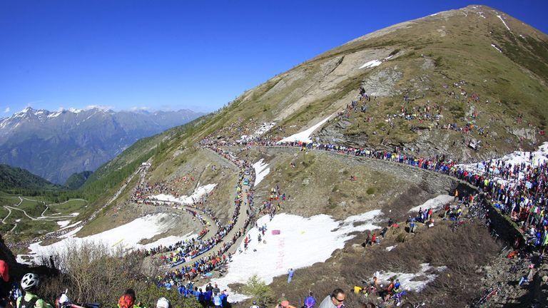 The Giro d'Italia is the first Grand Tour of the season