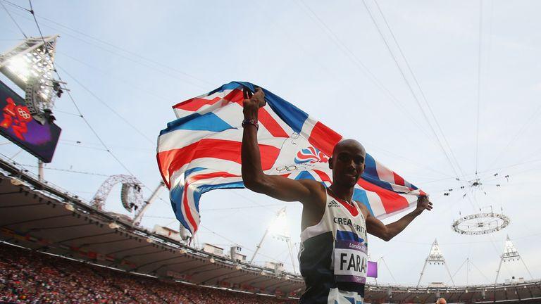 Mo Farah: Enjoyed a stunning Olympics in London three years ago