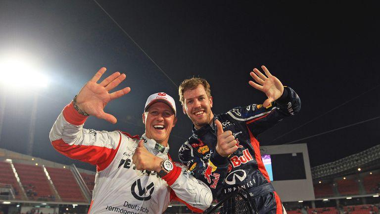Michael Schumacher and Sebastian Vettel: Master and apprentice