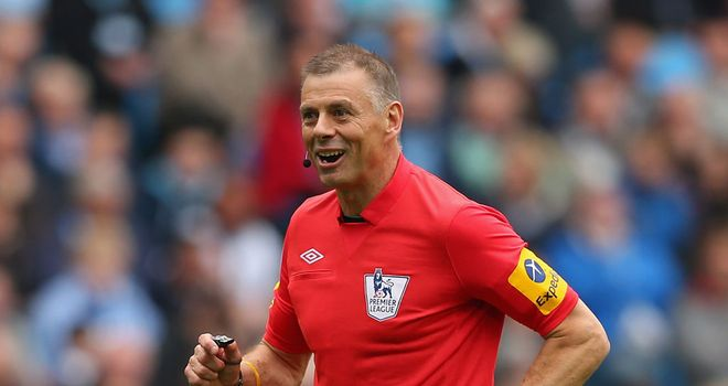 Mark Halsey bowed out of the game at Manchester City