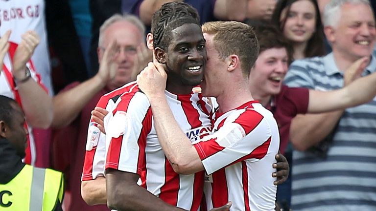 Clayton Donaldson: Bagged double in thrilling clash