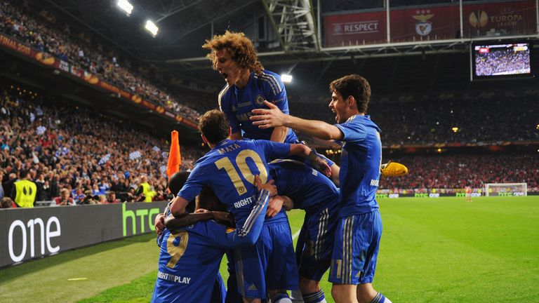 Europa League final: Chelsea win Europa League with 2-1 win over Benfica