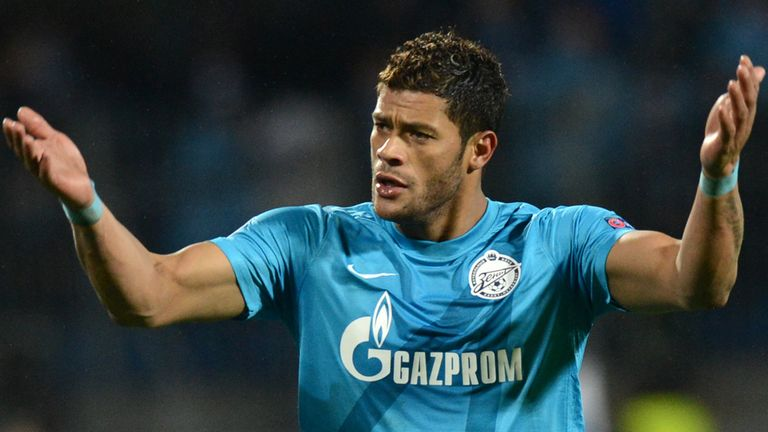 Hulk: Jose Mourinho is reported to have bid £35million for the Zenit St Petersburg star
