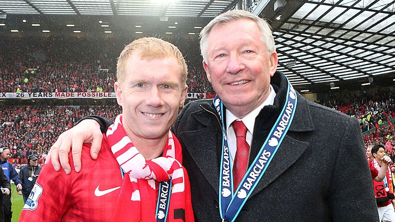 Paul Scholes: Ended his competitive playing days this season
