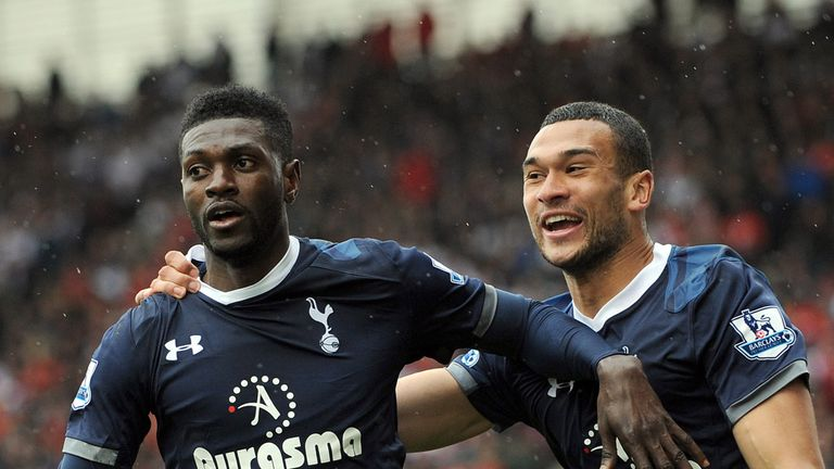 Emmanuel Adebayor: Ready for the challenge of competing for a starting spot at Tottenham