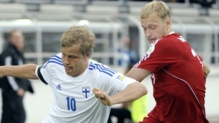 Teemu Pukki: Finland striker wanted by Celtic