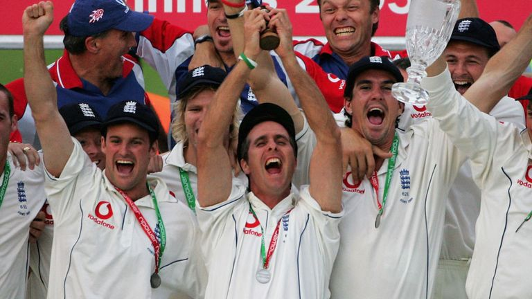 In 2005, Michael Vaughan became the first England captain to win the Ashes since Mike Gatting in 1987