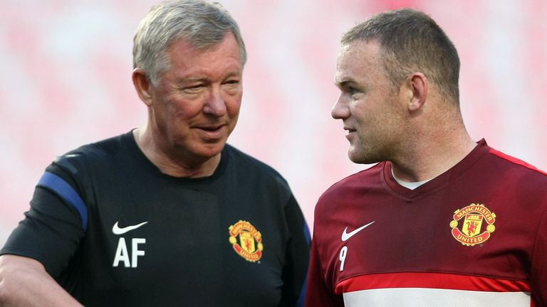 Sir Alex Ferguson: Manchester United manager repeated his claim Wayne Rooney asked to leave