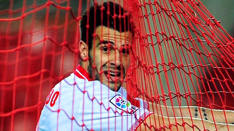 Alvaro Negredo: Heavily linked with Manchester City