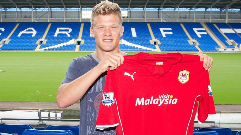 Andreas Cornelius: Cardiff are hoping to benefit from his considerable potential