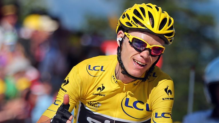 Chris Froome won the Tour de France in 2013