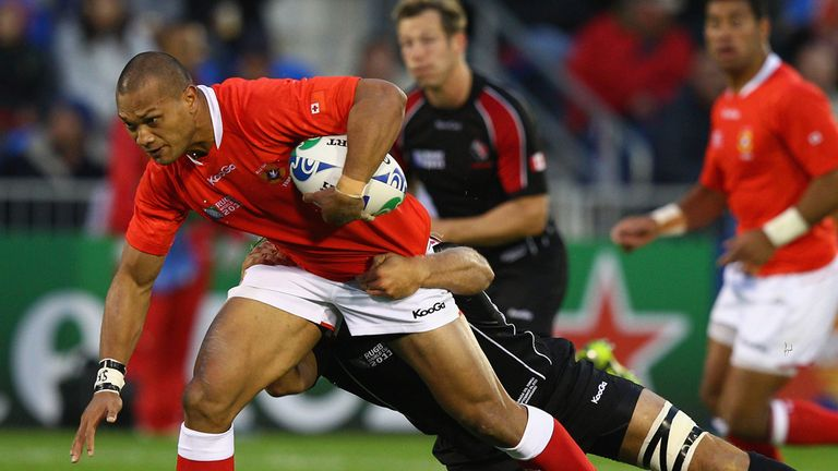William Helu: Represented Tonga at the 2011 World Cup