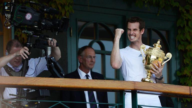 We look at how Andy Murray has fared at Wimbledon