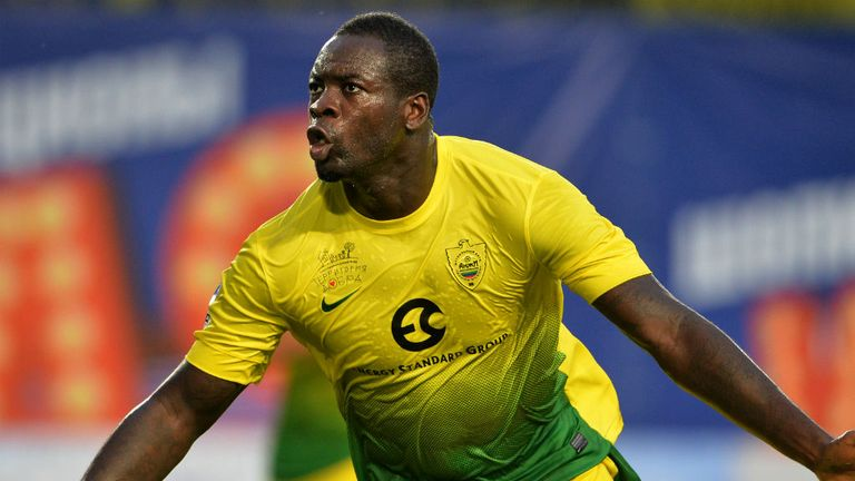 Chris Samba: Expecting to remain in Russia with Anzhi