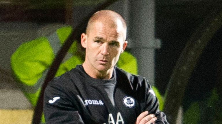 Alan Archibald: Settled squad for Aberdeen trip