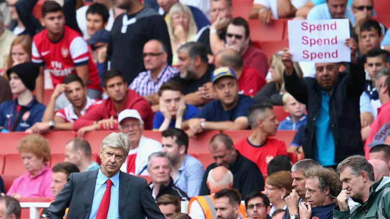 Arsenal boss Arsene Wenger says the club need not sell talent any more