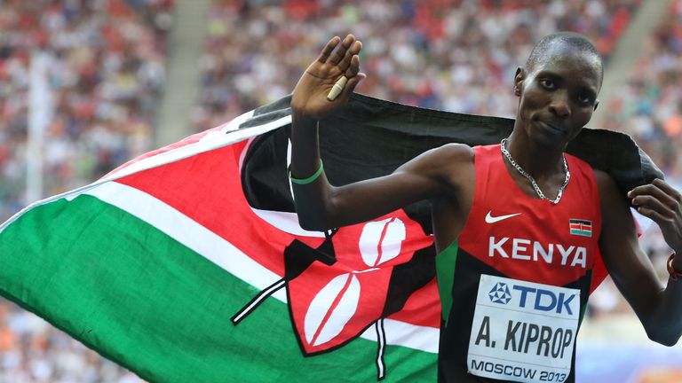 Kiprop claims his sample may have been tampered with by testers
