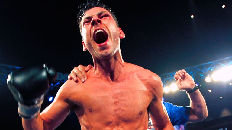 Darren Barker: Survived a sixth-round onslaught