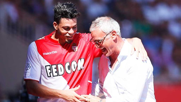 Monaco were promoted under Ranieri, and then fell just short in Ligue 1