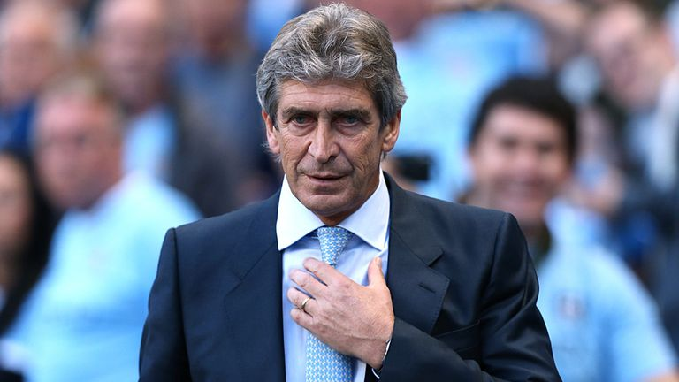 Manuel Pellegrini: Looking for Manchester City to express themselves in Europe