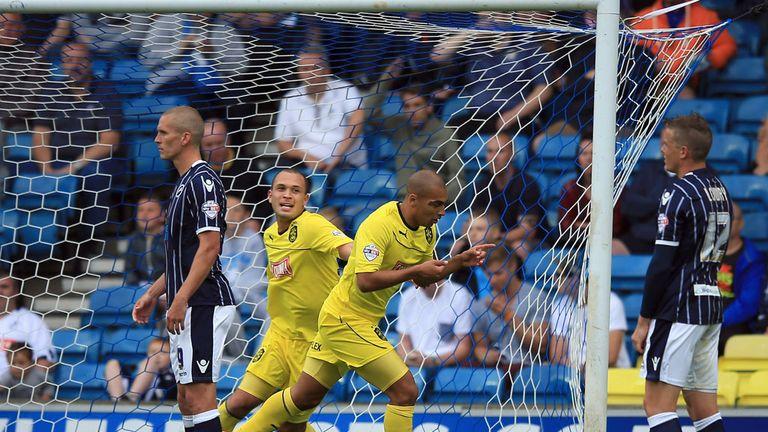 James Vaughan: Huddersfield's matchwinner at The Den