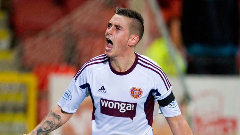 Jamie Walker: Secured point for Hearts