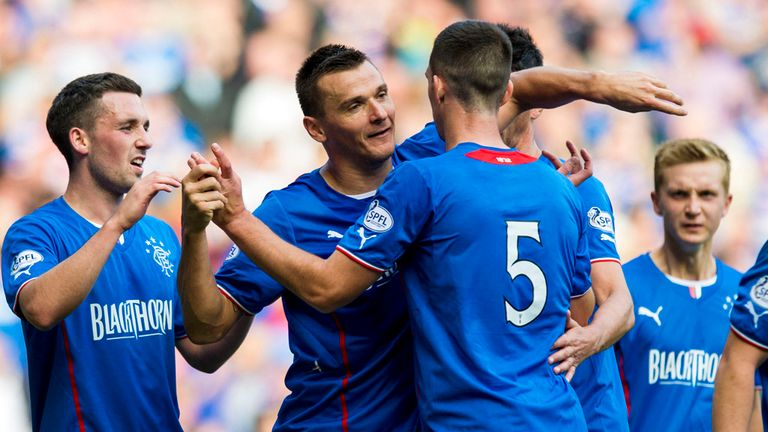 Lee McCulloch: Claimed a hat-trick against East Fife